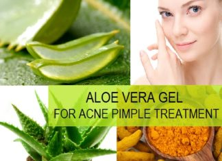 How to use aloe vera for pimples and acne?